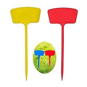 XD E-commerce Etichette vegetali Colorate Etichette per Piante Spesse Etichette vegetali per Fiori Impianto di plastica… 2 spesavip
