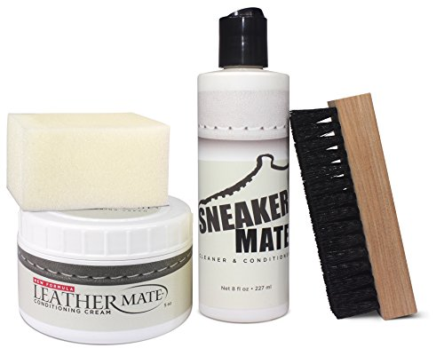 LeatherMate by URAD and SneakerMate Shoe Cleaning Bundle - Sneaker Cleaner - Leather Cleaner by Sneaker Mate