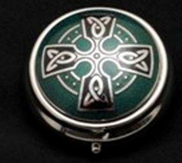 Celtic Wedding Designs (Pill Box in a Celtic Cross Design)