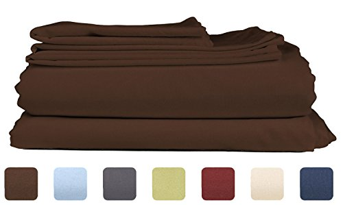 Throw Pillow Case Cover (Light Brown) Set of 3 - 5