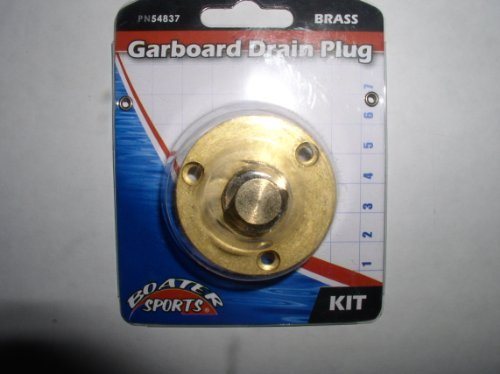 Boater Sports Garboard Drain Plug Brass by Boatersports by Boatersports
