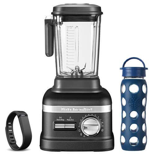 KitchenAid Artisan Power Blender Plus Cast Iron Black