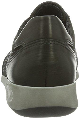 ara Rom Damen Sneakers Schwarz (Schwarz)