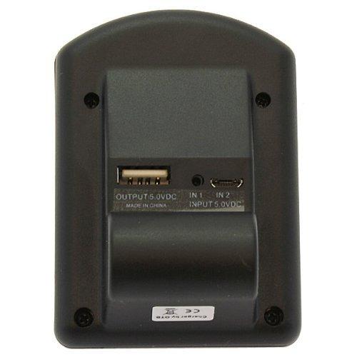 estación de carga para Aiptek cb-170 Videocámara batería-cargador