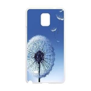 Samsung Galaxy Note 4 Cases Dandelion Seeds, Samsung Galaxy Note 4 Cases for Women - [White] Okaycosama