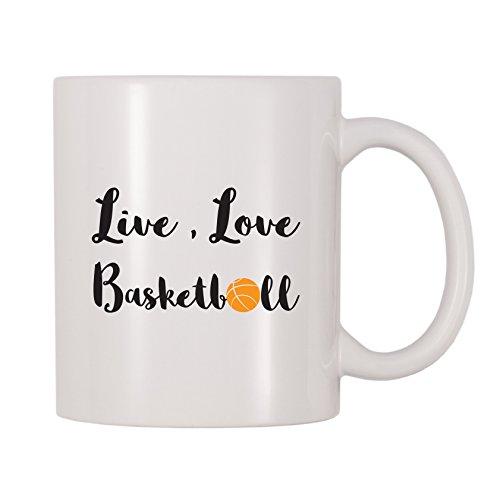 4 All Times Live, Love, Basketball Coffee Mug (11 oz)
