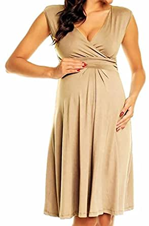 Happy Mama Women's Maternity Skater Nursing Flattering ...