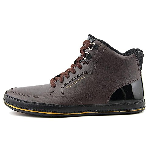 Rockport Harbor Point Mid Cut Uomo Pelle