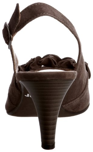 Zapatos Dazzling Gabor Mujer Para Marrón De Ante qPR1xw15F6