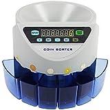ONE STEP 日本硬貨専用 270枚/分 高速コインカウンター 自動計算 硬貨計数機 最新版 (グレー)