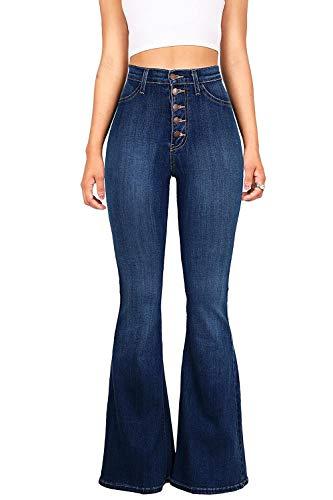 Haute Les Pantalon Denim Sevozimda Skinny Monts Taille Darkblue Jeans Pantalons par Femmes en des 1Hwwa6qnU