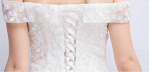 Vimans 46 Para Mujer Vestido Blanco Trapecio ATprPxwAq