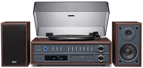 Price comparison product image Teac LP-P1000 Turntable Stereo System with CD/Bluetooth/Radio