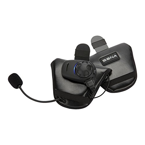 Sena SPH10HD-FM-01 Half-face Helmet Kit with Built-in FM tuner (dual pack) by Sena