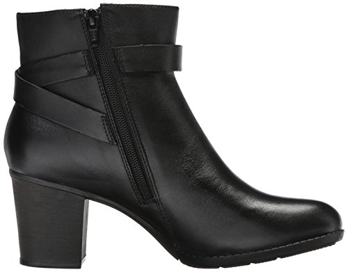 Clarks Enfield Leather Ankle Black Boot Sari Women's Ar7wqA
