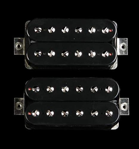 Bare Knuckle Aftermath Humbucker Pickup Set (Black Open-Coil) (Bare Knuckle Humbuckers)