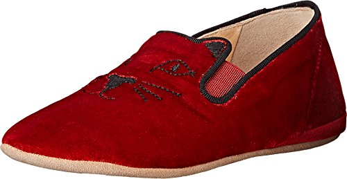 charlotte-olympia-kitten-toddler-red-velvet-suede-womens-flat-shoes