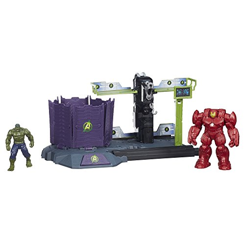 (Marvel Avengers HQ Hulk Buster Breakout Set)