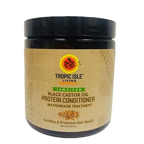 Tropic Isle Living Jamaican Black Castor Oil Protein Conditioner 8oz by Tropic Isle Living