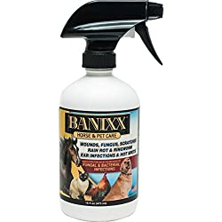 Sherbon-Bannixx Banixx Horse & Pet Care for Fungal & Bacterial infections 16oz