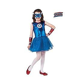 - 41ayfb4hVrL - Rubie's Marvel Classic Child's American Dream Costume