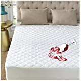"GIGIZAZA Twin Mattress Protector Pad Covers,100% Waterproof Medium-Soft Quilted Mattress Protector,Hypoallergnic,Dust Mite Protection,Fitted 8-18"" Deep Pocket .10 Year Warrant"