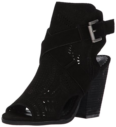 Naughty Monkey Women's Zuzanna Ankle Bootie, Black, 9.5 M US - Naughty Monkey Shoes Com