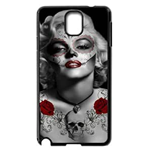 Zombie Marilyn Monroe New Fashion DIY Phone Case for Samsung Galaxy Note 3 N9000,customized cover case QUEER691826