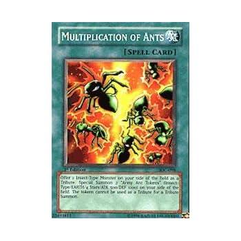 Multiplication Of Ants Yugioh Card Genuine Yu-Gi-Oh Trading Card