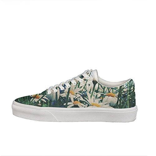 Daisies daisy Women Casual Shoes Sneakers Boat slip on Fashion news - X7 Sunglasses Daisy