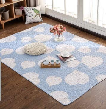 No4 YOOMAT 100% Cotton Cartoon Carpet Kids Room Rug Yoga Mat Muti Taille 12 Styles Rug for Living Room Window 150 x 210 cm