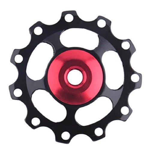 Vovomay 11T Bearing Jockey Wheel Pulley Road Bicycle Bike Derailleur