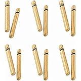Nino Percussion NINO502-6 Natural Wood Claves, Small, 6 Pack