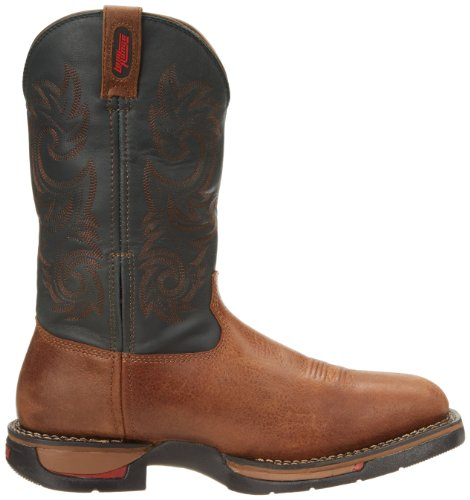 Range Men's Boot Western Rocky Navy Long 1S6REnz