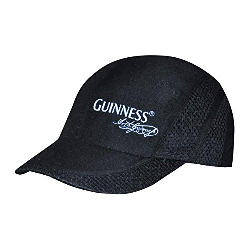 Arthur Guinness Signature Sports Comfort Baseball Cap Black (Dark Flattop)