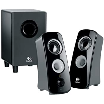 awesome computer speakers. logitech speaker system z323 with subwoofer awesome computer speakers n