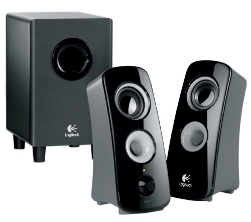 - Logitech Speaker System Z323 with Subwoofer