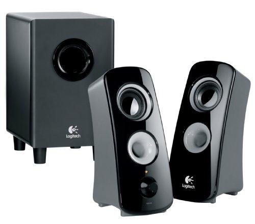 Logitech Z323 speaker system with subwoofer
