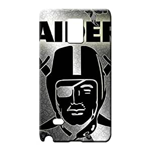samsung note 4 Abstact Plastic Pretty phone Cases Covers mobile phone carrying covers oakland raiders nfl football