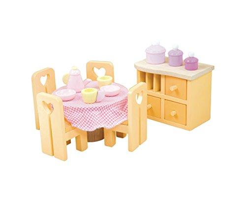 Le Toy Van Sugar Plum Dining Room - Dolls Not Included (Sugar Van Le Toy)