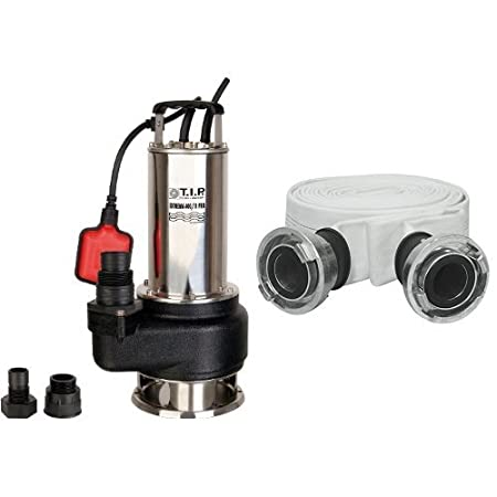 T.I.P. Profi Schmutzwasser Tauchpumpe Extrema 400/11 Pro + C-Storz-Kupplung