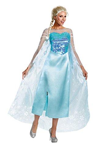Elsa Deluxe Adult Costume Medium
