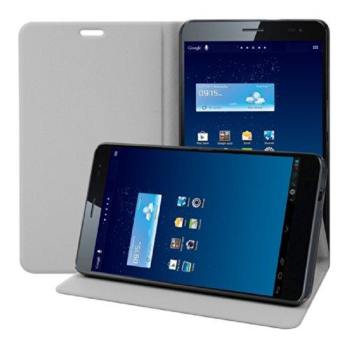 kwmobile Hülle für Huawei MediaPad X1 7.0 mit Ständer - Kunstleder Tablet Case Cover Tasche Schutzhülle in Weiß