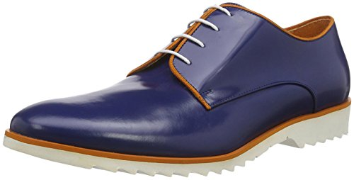 Hemsted & Sons Derby Blau/Orange