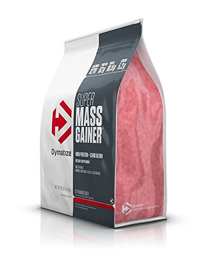 Dymatize Super Mass Gainer Protein Powder with 1280 Calories Per Serving, Gain Strength & Size Quickly, Strawberry, 12 lbs by Dymatize (Image #2)