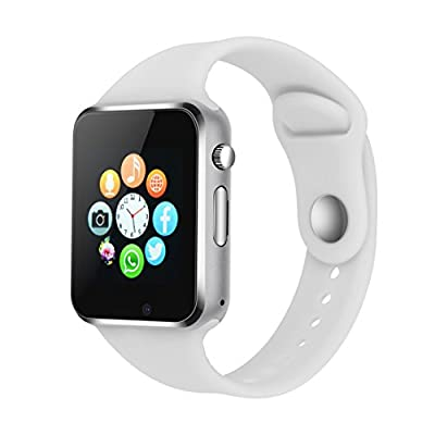 Smart Watch Phone Camera, IOQSOF Touch Screen Smart Wristwatch