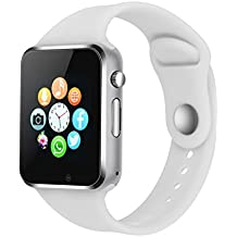 Smart Watch Phone Camera, IOQSOF Touch Screen Smart Wristwatch, Bluetooth Smart Watch Cell Phone with 2G Sim Card Slot for Samsung, LG, HTC, Google, Sony Android IOS Smartphone Men Women Kids Boys