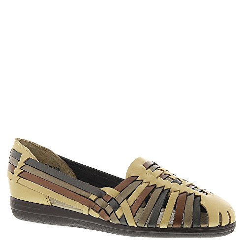 SoftSpots Women's Trinidad Huaraches METALLIC-MULTI 6 EE by softspots