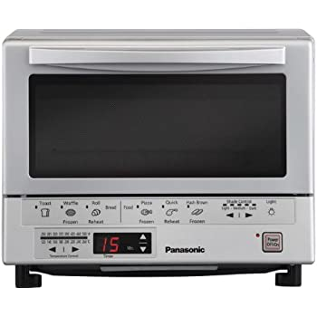 Amazon Panasonic NB G110P Flash Xpress Toaster Oven Silver