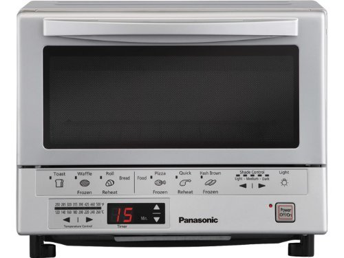 Panasonic NB-G110P Flash Xpress Toaster Oven, Silver (Toaster Oven Infrared compare prices)